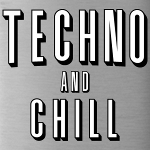 Techno and chill - Water Bottle