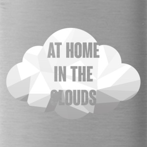 Hipster: At Home in the Clouds - Trinkflasche