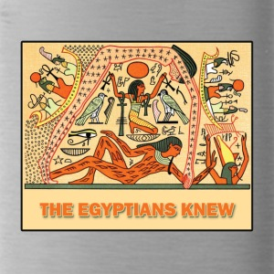THE EGYPTIANS KNEW - Water Bottle