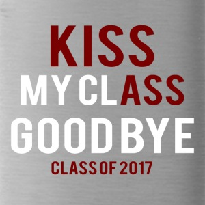High School / Graduation: Kiss Ass - Kiss my Class - Vattenflaska