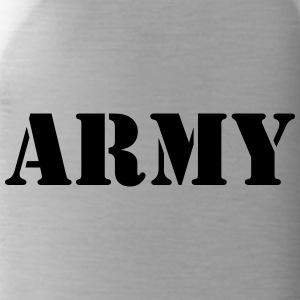 Army black - Trinkflasche