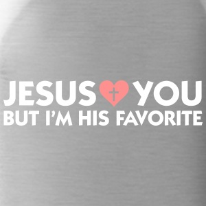 Jesus Loves You But I'm His Favorite - Water Bottle