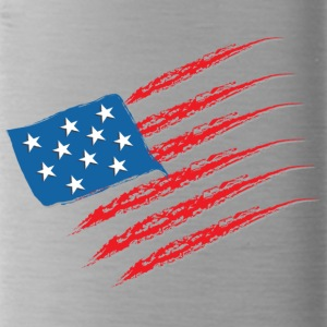 USA Flag - Trinkflasche