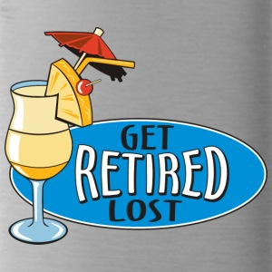 Retired Get Lost! - Trinkflasche