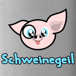 pig Geil - Water Bottle