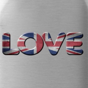 I LOVE ENGLAND GREAT BRITIAN - Trinkflasche