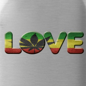i love cannabis - Water Bottle