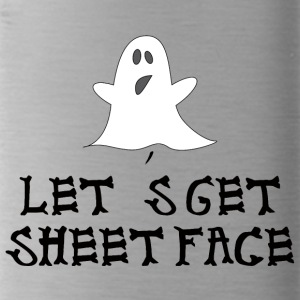 Halloween: Let's Get Sheetface - Water Bottle