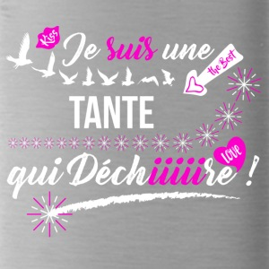 tee shirt famille Tante pas cher - Gourde