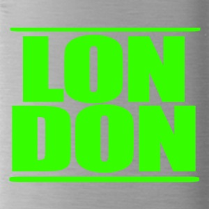 LON DON Logo Green - Gourde