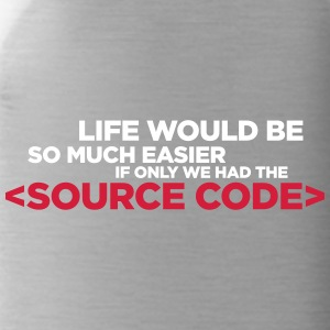 Life Has A Source Code! - Water Bottle