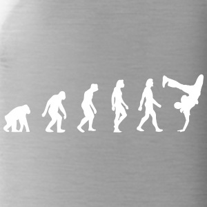 Die Evolution des Breakdancing - Trinkflasche
