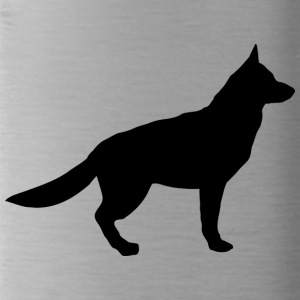 german shepherd - Water Bottle