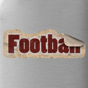 Football Sticker - Trinkflasche