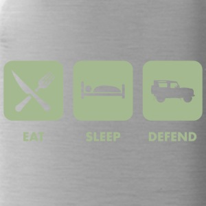 Eat, Sleep & Defend - Water Bottle