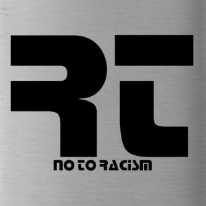 No to Racism - Trinkflasche