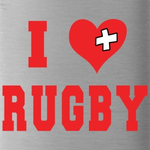 I Love Rugby Football - Water Bottle
