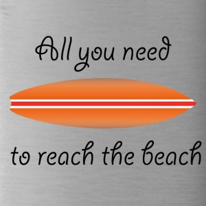 REACH THE BEACH - Drikkeflaske