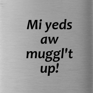 myYedsAllMuggleTup - Water Bottle