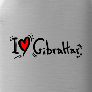 I Love Gibraltar - Water Bottle