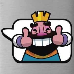 Emoticon Re Royale Clash - Borraccia