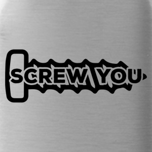 Mechaniker: Screw You - Trinkflasche