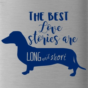 Dachshund / Dachshund: The Best Love Stories Are Long - Water Bottle