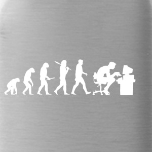 Evolution Computer Nerd! PC Nerd! IT! Technology! - Water Bottle