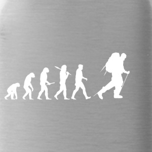 Evolution Hiking! Hike! Mountains! Rockclimbing! - Water Bottle