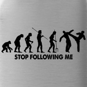 Evolution Stop Following Me - Water Bottle