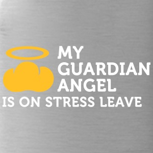 My Guardian Angel Is On Vacation - Water Bottle