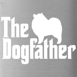 Keeshond Dogfather - Water Bottle