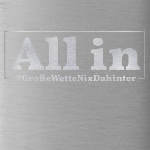 Poker All in - Trinkflasche