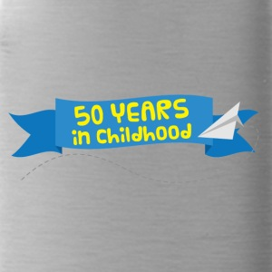 50 ° anniversario: 50 anni in Childhood - Borraccia