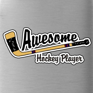 Awesome Hockey Player - Water Bottle