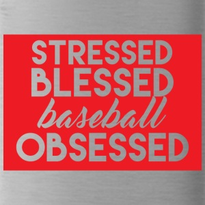 Baseball: Sollecitato Beato - Baseball Obsessed - Borraccia