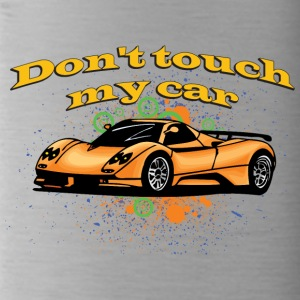 Don t touch my car - Water Bottle
