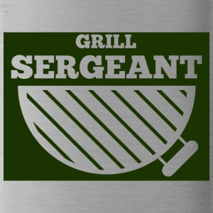Militair / Soldier: Grill Sergeant - Drinkfles