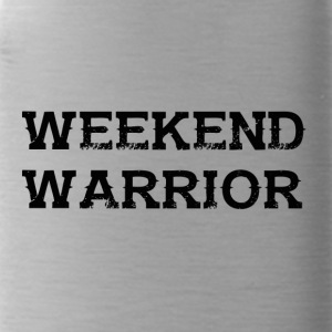 Shirt Weekend Warrior weekend di festa - Borraccia