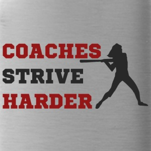 Coach / Trainer: Coaches Strive Harder - Trinkflasche