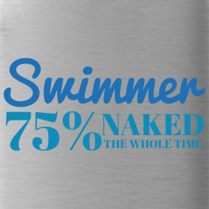 Swimming / Swimmer: Swimmer - 75% naked - Water Bottle