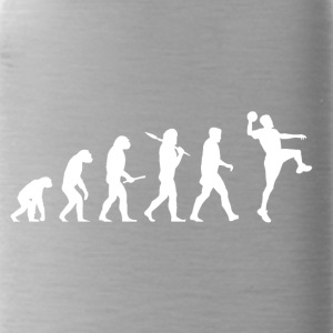 Evolution handball! Sports! Handball funny! - Water Bottle