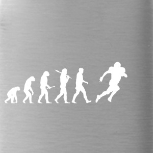 Evolution Football! American Football! funny! - Water Bottle
