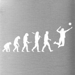 Evolution Volleyball Woman Sport funny - Water Bottle