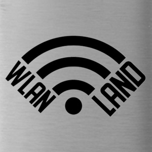 Wlan Land Logo 1 - Water Bottle