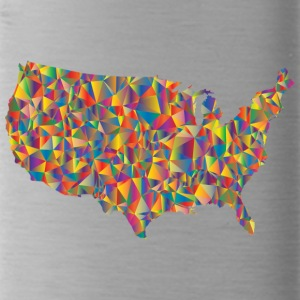 COLORFULL AMERICA - Trinkflasche