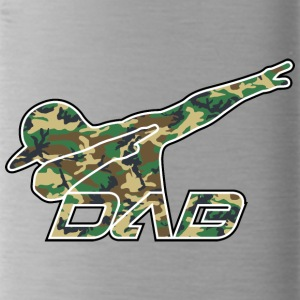 DAB woodland camo - Water Bottle
