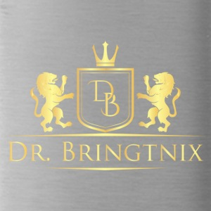 Dr.Bringtnix luxury coat of arms Löwengold - Water Bottle