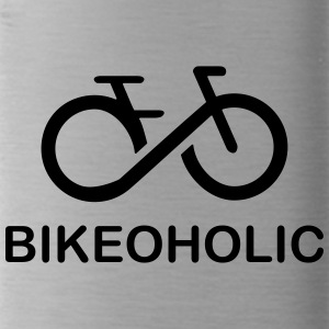 Are you also Bikeoholic. The shirt for cyclists. - Water Bottle