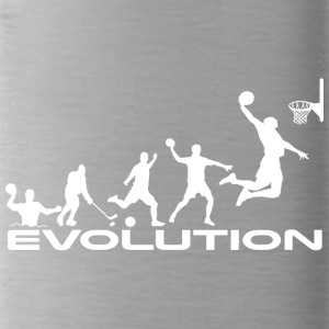Basketball evolutie - Drinkfles